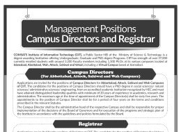 director_position Job Application Form Comsats on free fillable, big lots printable, blank generic, part time, red robin, home depot, printable practice, free sample,